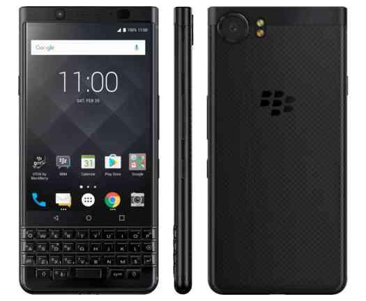 BlackBerry KEYone Black Edition official