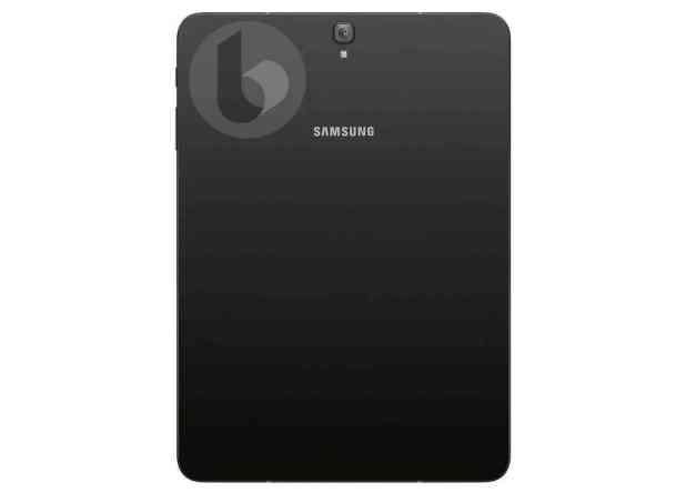 Samsung Galaxy Tab S3 leak rear