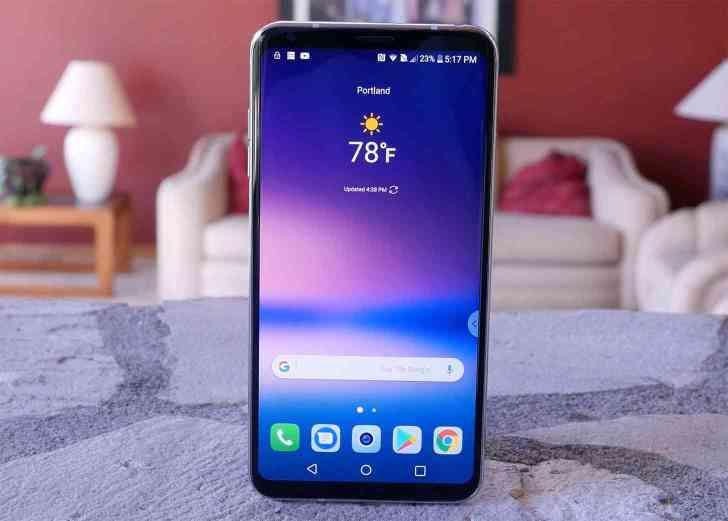 LG V30 hands-on video