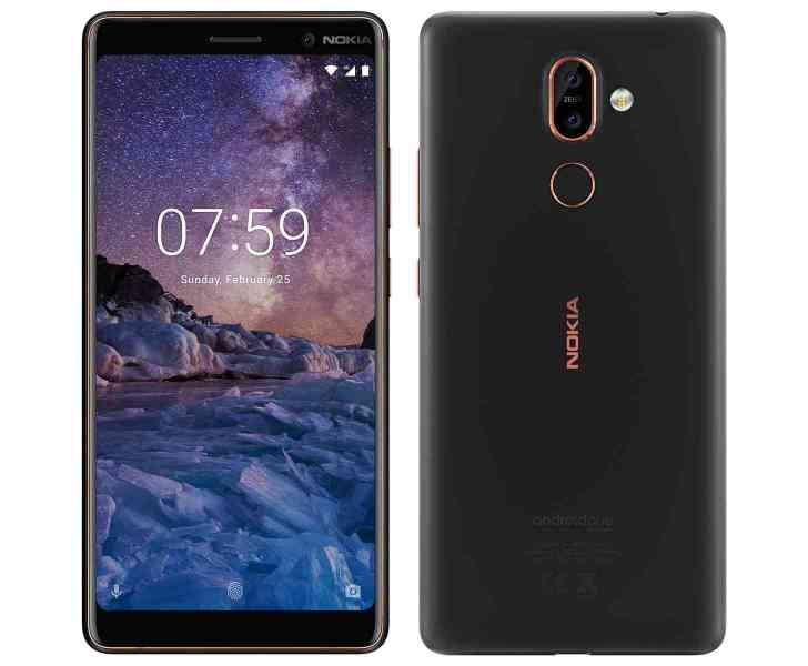 Nokia 7 Plus official images