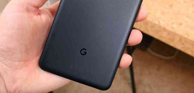 Google Pixel 2 XL rear