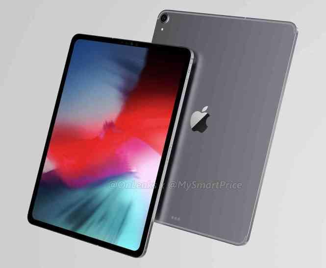 iPad Pro 12.9 (2018) leak 1