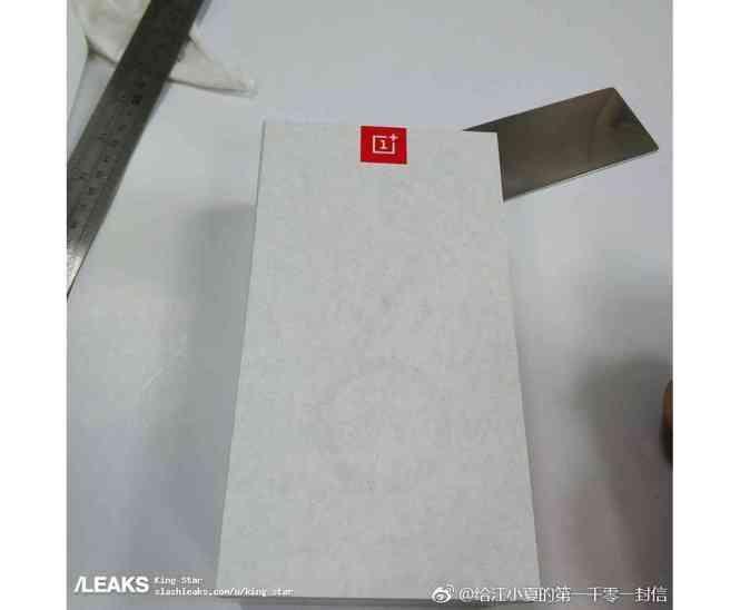 OnePlus 6T packaging leak 2