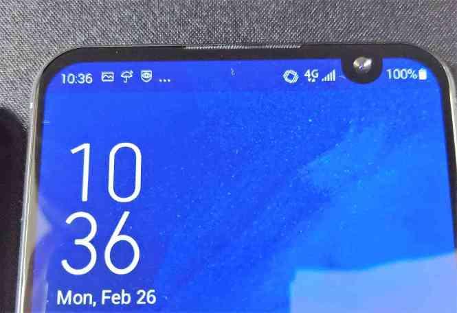 ASUS ZenFone 6 corner notch leak