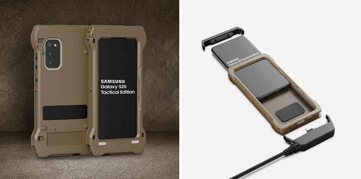 Samsung Galaxy S20 Tactical Edition is an ultra tough, super ...