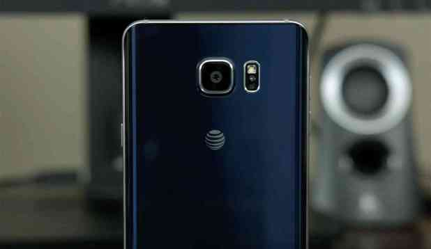 AT&T logo Samsung Galaxy Note 5