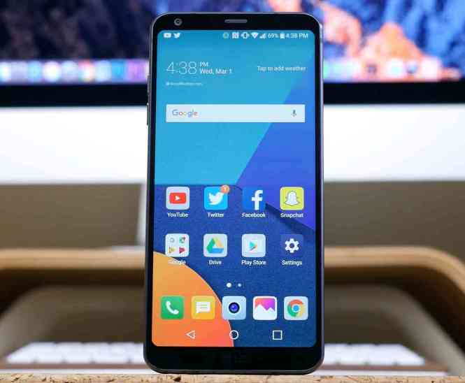 LG G6 hands-on video