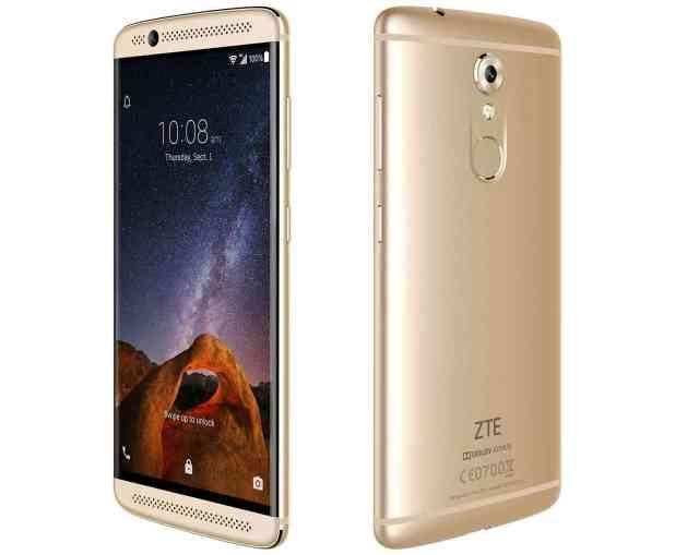 ZTE Axon 7 Mini official gold
