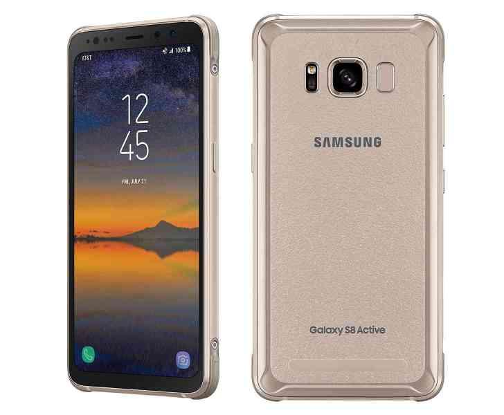 Samsung Galaxy S8 Active Titanium Gold AT&T