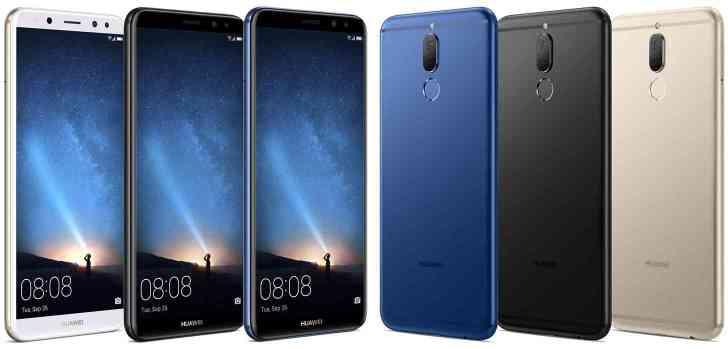 Huawei Mate 10 Lite images leak