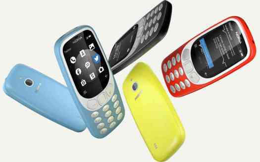 Nokia 3310 3G connectivity