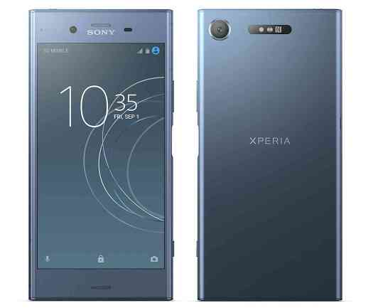 Sony Xperia XZ1 official blue