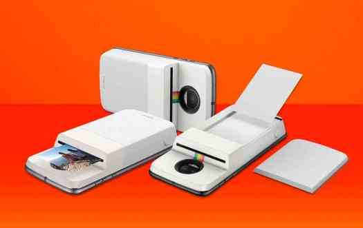 Motorola Polaroid Insta-Share Printer Moto Mod official image