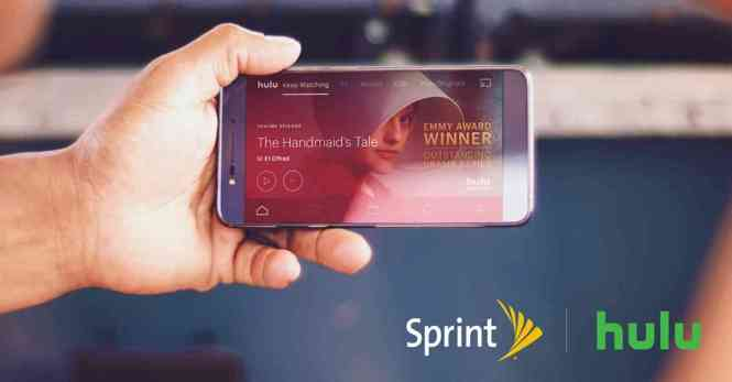 Sprint Hulu offer