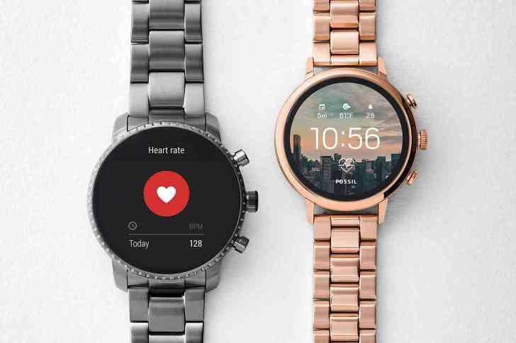 Fossil Q Venture HR, Fossil Q Explorist HR smartwatches