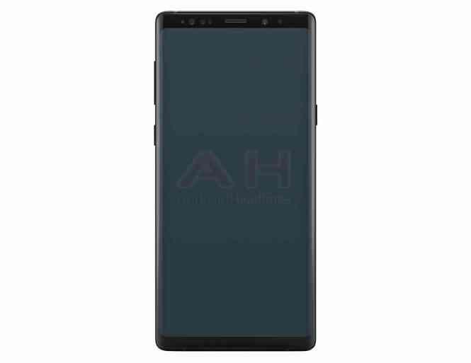 Samsung Galaxy Note 9 image leak