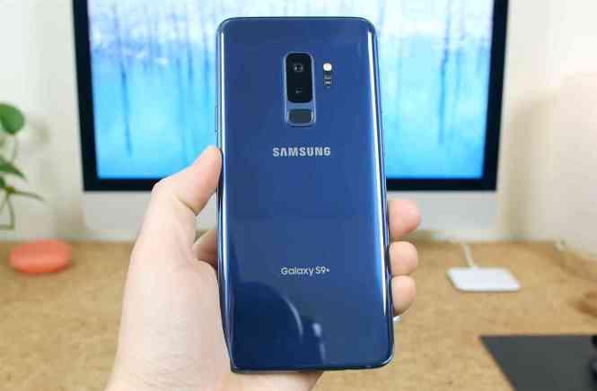 Samsung Galaxy S9+ dual rear cameras