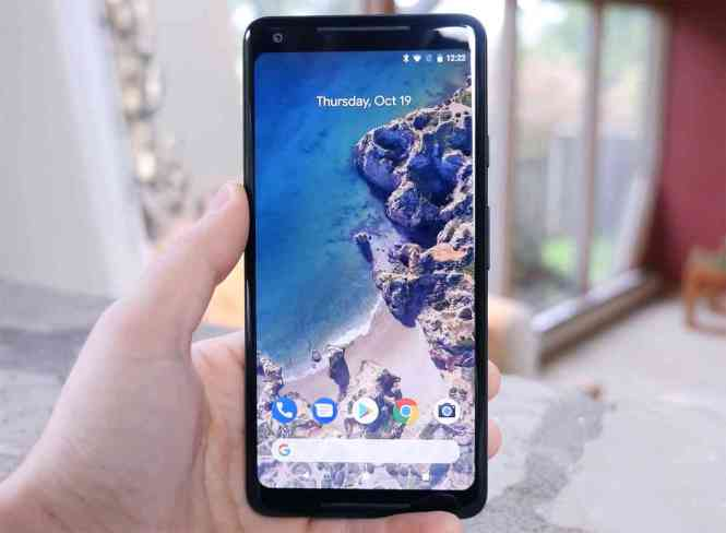Google Pixel 2 XL hands-on video