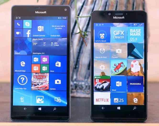 Microsoft Lumia 950 XL, Lumia 950 hands-on video
