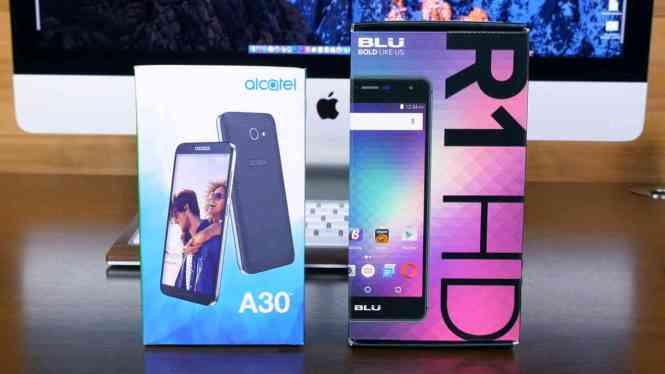 Alcatel A30 vs BLU R1 HD: Best Budget Smartphones Under $100 - PhoneDog