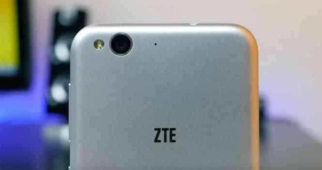 ZTE Blade 6 rear