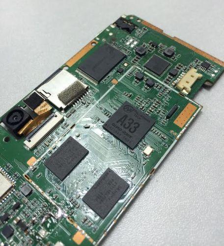 Plus de détails sur le processeur AllWinner A33