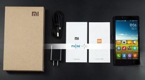 Xiaomi Mi4 déballage