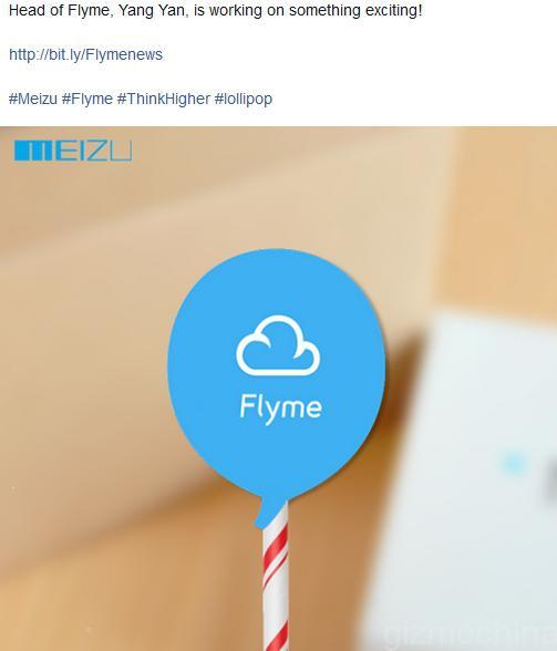 Meizu : Android 5.0 Lollipop en approche ce mois-ci !