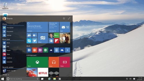 Microsoft and Xiaomi for Windows 10!