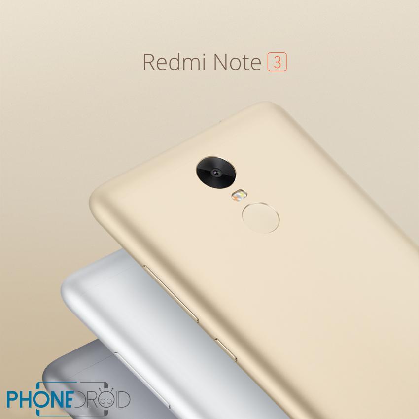 Xiaomi Redmi Note 3 : prix, caractéristiques, et date de sortie