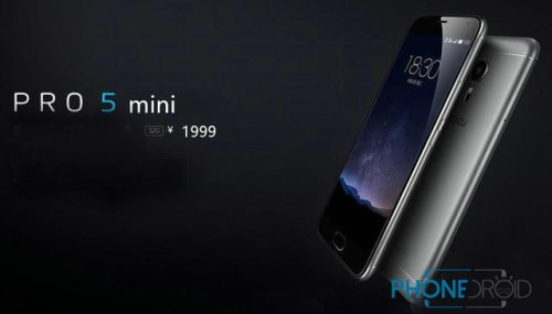 Meizu PRO 5 mini Exposed MTK 6797 processor 10 core +4.7 inch screen