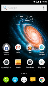 Accueil Bluboo Xtouch