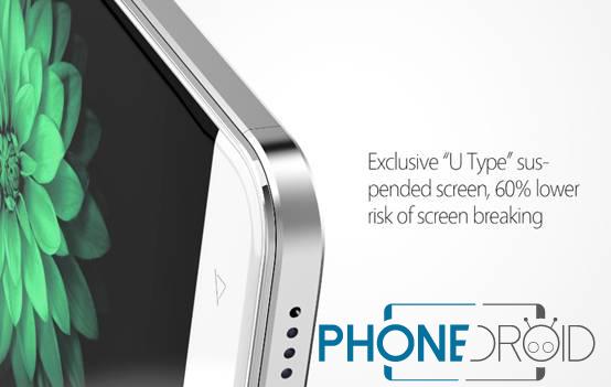 Bluboo Xfire 2 screen