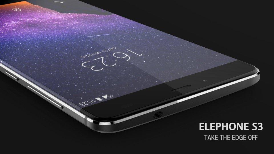 ELEPHONE-S3-Grey