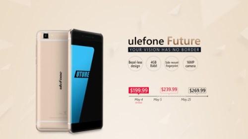 Ulefone Future price exposes