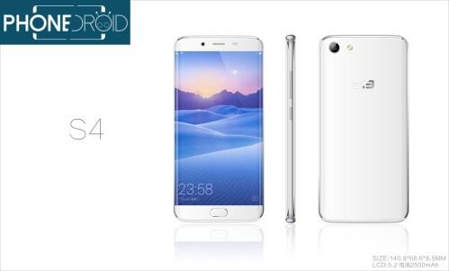 Exclu Phonedroid : et voici le Elephone S4 !