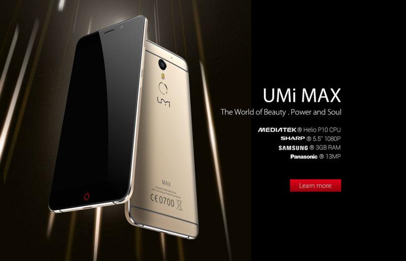 UMI Max officiel, la nouvelle référence milieu de gamme