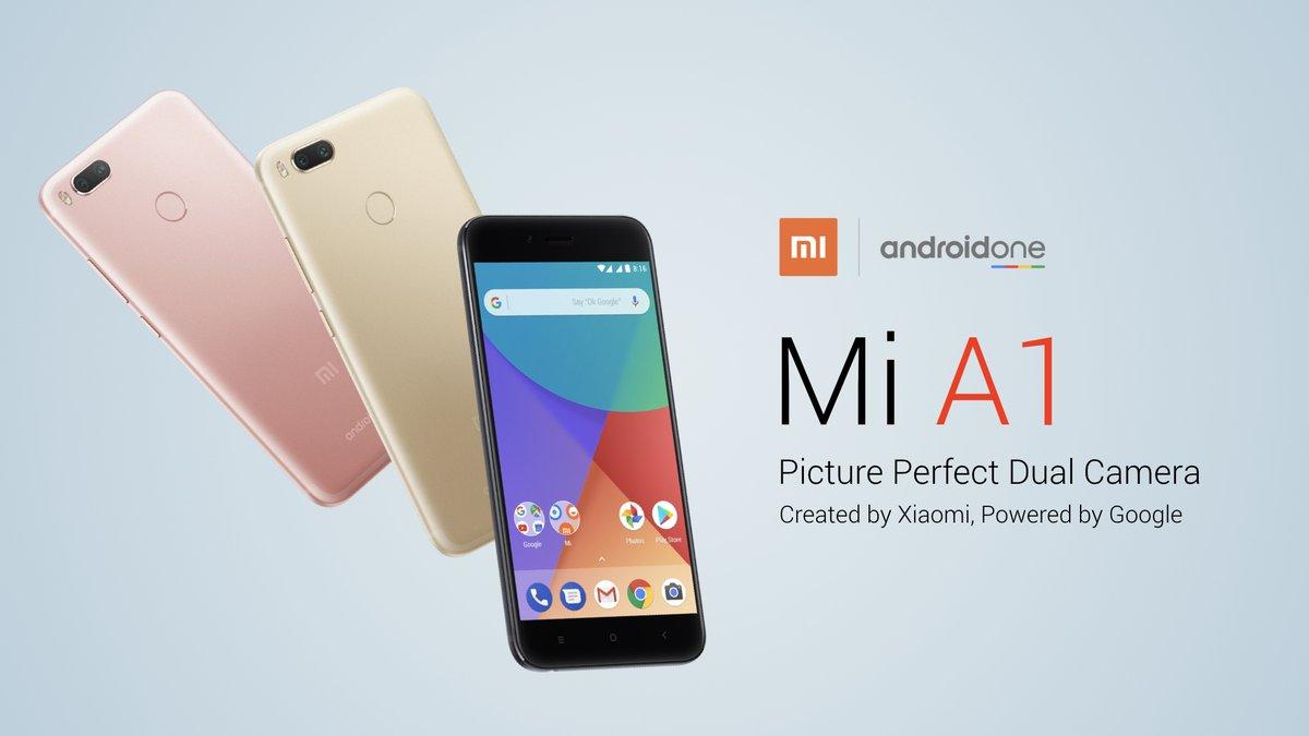 Xiaomi Mi A1 : un Xiaomi sous Android One !