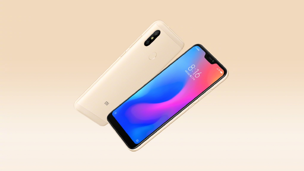 Xiaomi Redmi 6 Pro  officiel : Snapdragon 625 et … un notch !