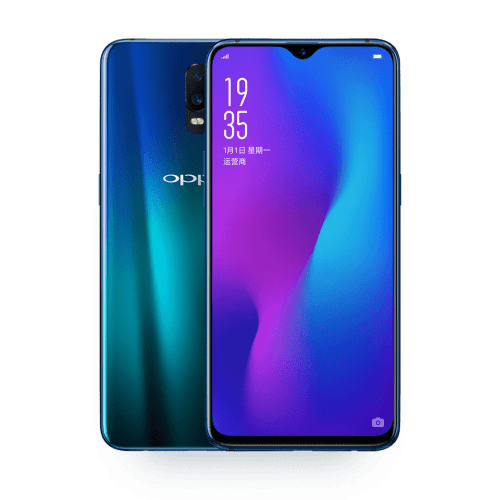 Oppo R17 et R17 Pro officialisés : 2 batteries, triple capteurs photos