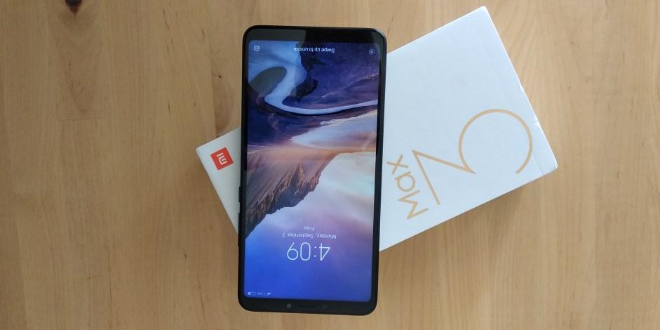 Face du Xiaomi MI Max 3