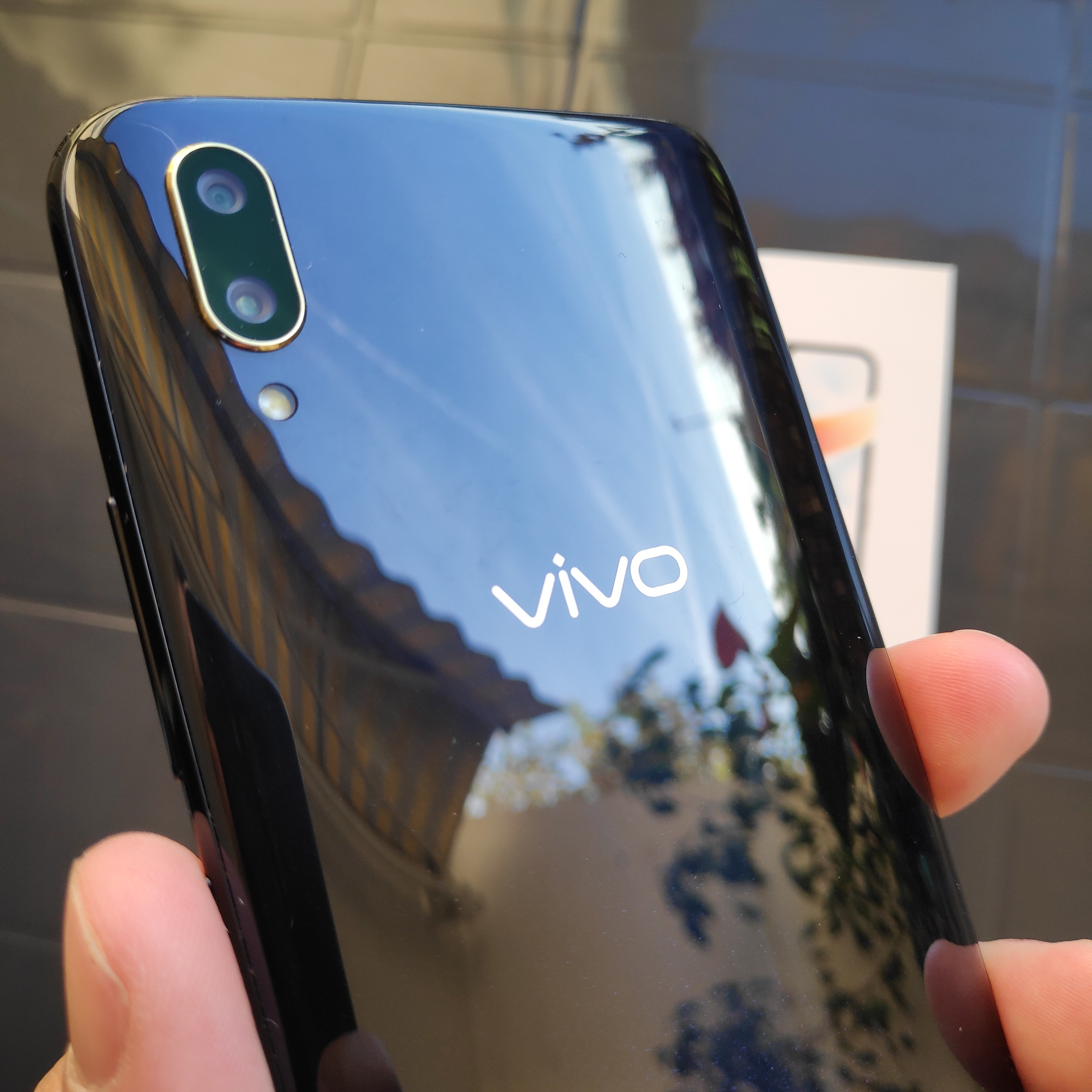 Le double capteur photo du Vivo V11