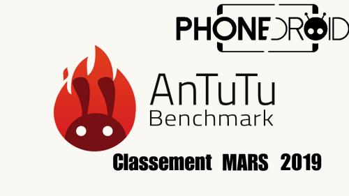 Classement Antutu Benchmark Mars 2019