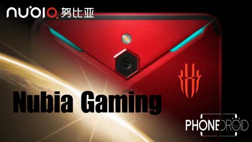 Nubia Gaming : refroidissement par ventilateur