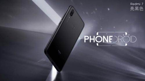 Redmi 7 : disponible dans la boutique PhoneDroid en Version Globale!