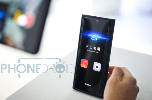 Oppo : premières photos du smartphone intégrant la caméra selfie sous l'écran