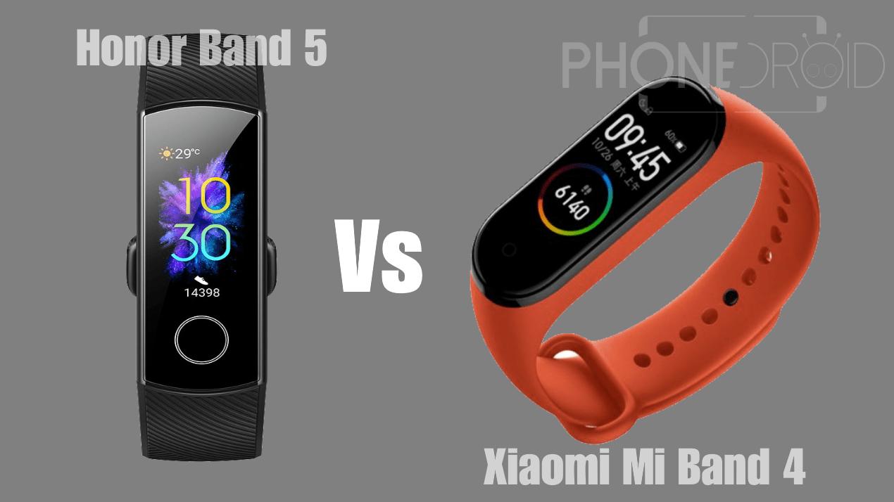 Honor Band 5 Vs Xiaomi Mi Band 4