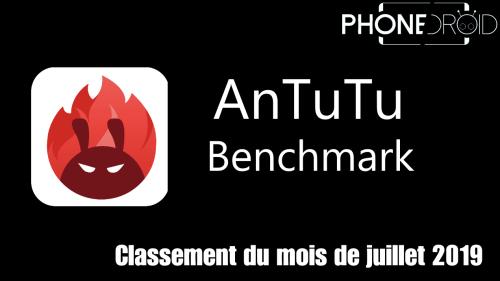 Classement Antutu Benchmark Juillet 2019