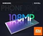 Samsung/Xiaomi : annonce du premier capteur de 108Mpx!