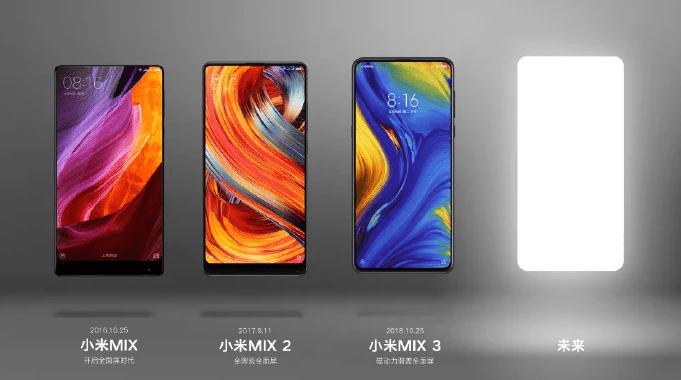 Xiaomi Mi Mix 4 : une sortie probable à la fin du mois